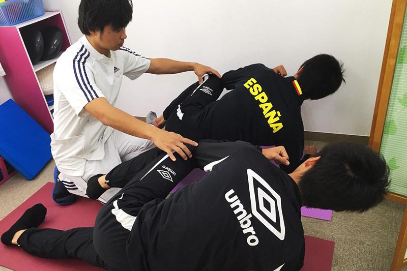 体幹トレーニング・ストレッチ